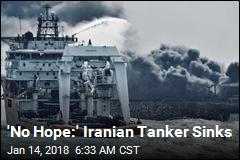 'No Hope:' Iranian Tanker Sinks