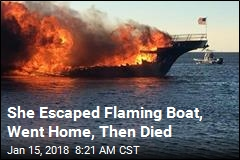 With Casino Boat in Flames, Only Option Was to Jump