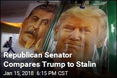Jeff Flake Just Compared Trump to Stalin