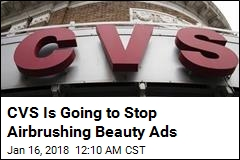 CVS Is Going to Stop Airbrushing in Beauty Ads
