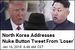 North Korea Calls Trump Tweet 'Spasm of a Lunatic'