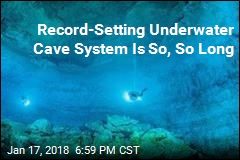 World's Longest Underwater Cave System Discovered