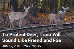 To Protect Deer, Train Barks Like a Dog