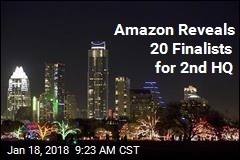 Amazon Reveals 20 Finalists for 2nd HQ