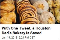 With One Tweet, a Houston Dad's Bakery Is Saved
