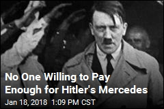 No One Willing to Pay Enough for Hitler's Mercedes
