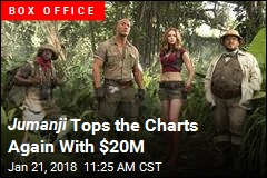 Jumanji is No. 1 for the Third Week in a Row
