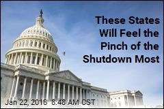 These States Will Feel the Pinch of the Shutdown Most