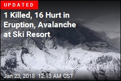 9 Hurt in Eruption at Ski Resort