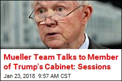 Jeff Sessions Interviewed for Hours by Mueller Team