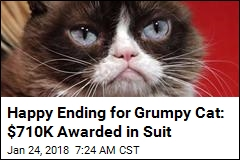 Happy Ending for Grumpy Cat: $701K Awarded in Suit