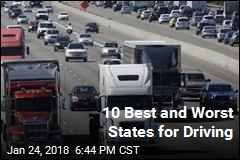 10 Best and Worst States for Driving