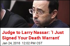 Larry Nassar Gets Up to 175 Years for Abuse