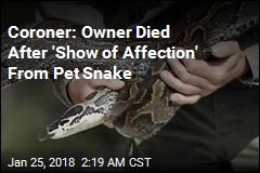 Coroner: Owner Was Killed by 'Affectionate' Python