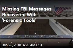 Justice Department: Missing FBI Texts Have Been Recovered