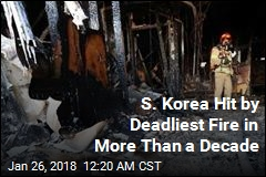 Dozens Die in South Korea Hospital Fire