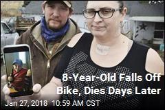 Boy Falls Off Bike, Is Dead Days Later