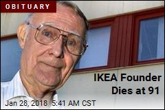 IKEA Founder Dies at 91