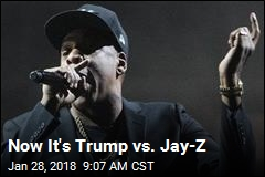 Now It's Trump vs. Jay-Z