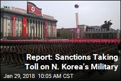 Report: Sanctions Taking Toll on N. Korea's Military