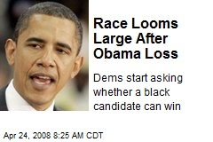 Race Looms Large After Obama Loss