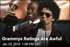 Grammys Ratings Are Awful