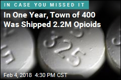 In One Year, Town of 400 Was Shipped 2.2M Opioids