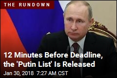 12 Minutes Before Deadline, the 'Putin List' Is Released