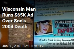 Wisconsin Man Runs $65K Ad Over Son's 2004 Death