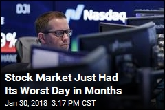 Stock Market Just Had Its Worst Day in Months