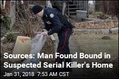 Sources: Man Found Bound in Suspected Serial Killer's Home