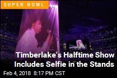 No Hologram, but Timberlake Salutes Prince