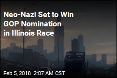 Neo-Nazi Set to Win GOP Nomination in lllinois Race
