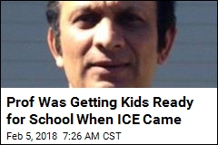 Prof Was Getting Kids Ready for School When ICE Came