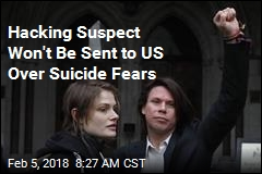 Hacking Suspect Won't Be Sent to US Over Suicide Fears