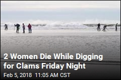 2 Women Digging for Clams Vanish at Opposite Ends of Bay