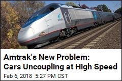 Amtrak Cars Uncouple During Morning Commute