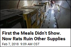 Supplies Meant for Puerto Rico Ruined by Rodents
