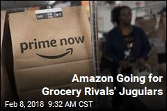 Amazon Going for Grocery Rivals' Jugulars