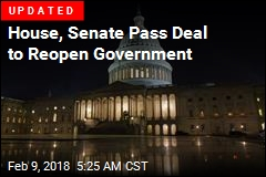 Senate Passes Deal to Reopen Government