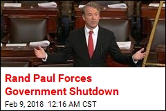 Rand Paul Forces Government Shutdown