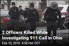 2 Officers Killed While Investigating 911 Call in Ohio