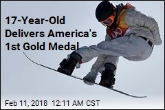 17-Year-Old Delivers America's 1st Gold Medal