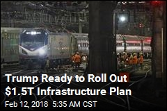 Trump Ready to Roll Out $1.5T Infrastructure Plan
