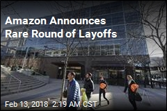 Amazon Announces Rare Round of Layoffs