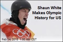 Shaun White Makes Olympic History for US
