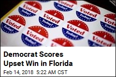Democrat Scores Upset Win in Florida