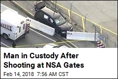Man in Custody After Shooting at NSA Gates