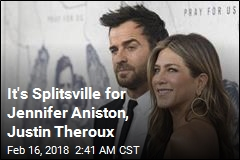 Jennifer Aniston, Justin Theroux Split 'Lovingly'