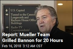 Bannon Talks to Mueller, Stonewalls House Panel